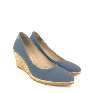 VISCATA Barcelona 37 US 7 Pointed Espadrille Wedge